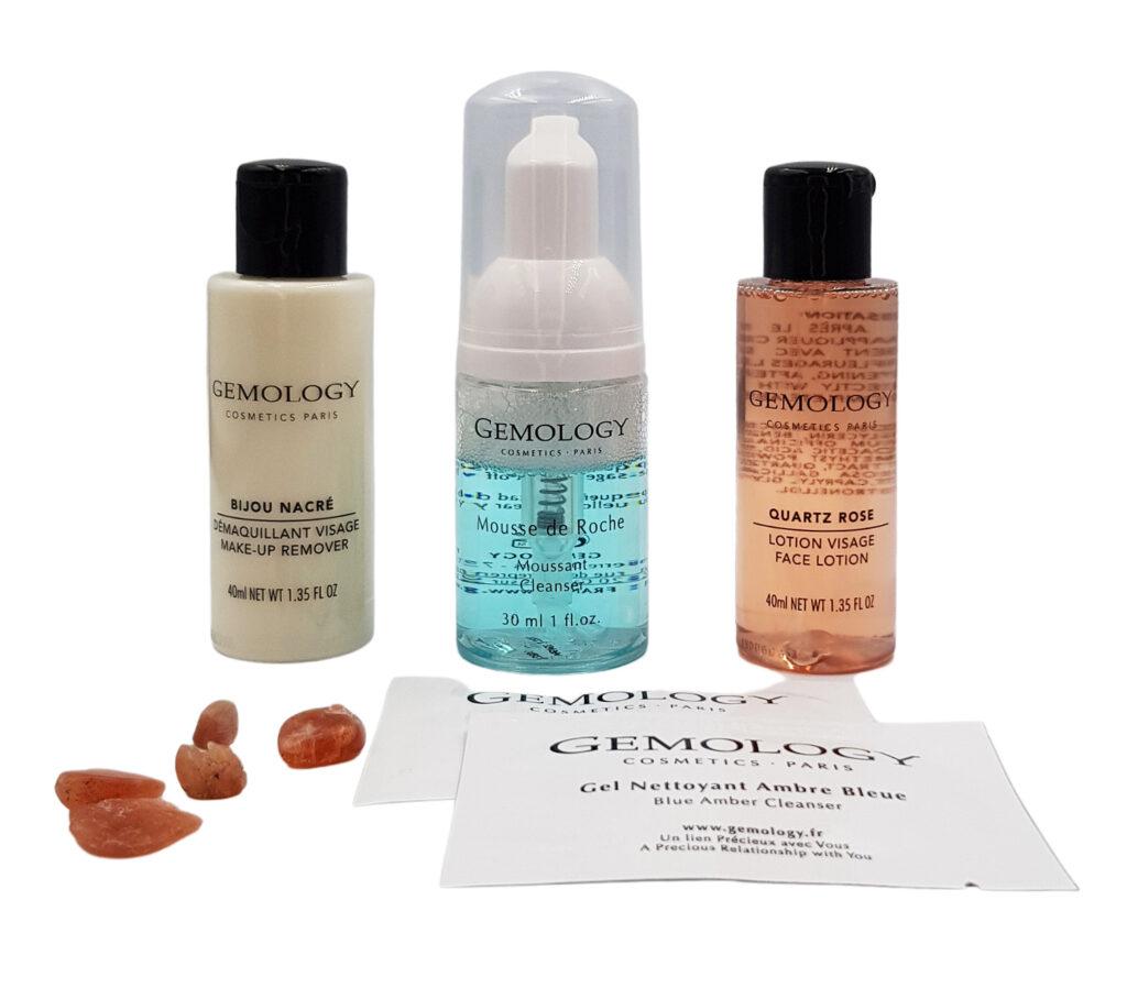 Poznaj Markę GEMOLOGY<br>Kosmetyki do demakijażu i oczyszczania  –  Zestaw